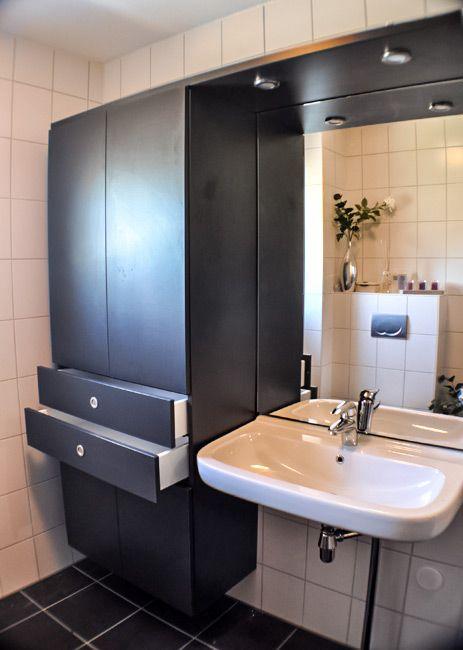 Badkamer kast op maat modern uniek een kast op maat - Moderne badkamerkast ...